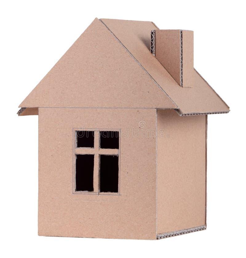 Casa de papel fotografia de stock royalty free