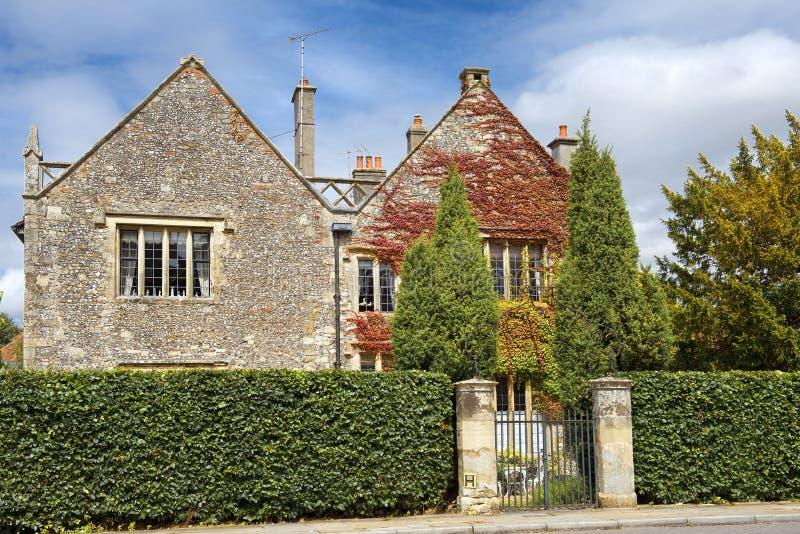 Casa de pedra velha, Salisbúria, Inglaterra fotografia de stock royalty free