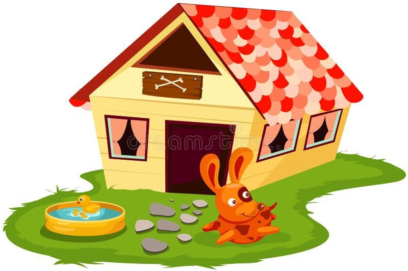 Casa de perro libre illustration