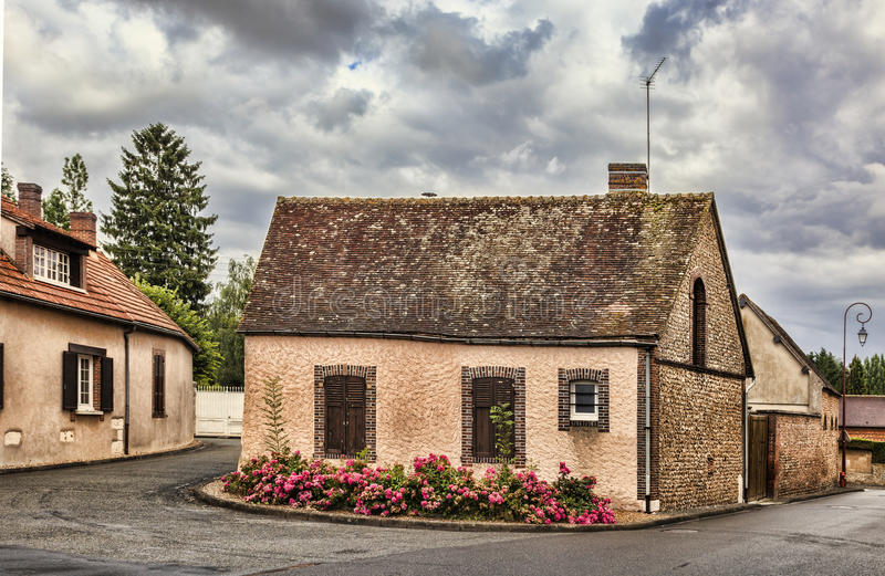 Casa de piedra imagenes de archivo