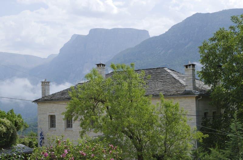 Casa de piedra fotografía de archivo libre de regalías