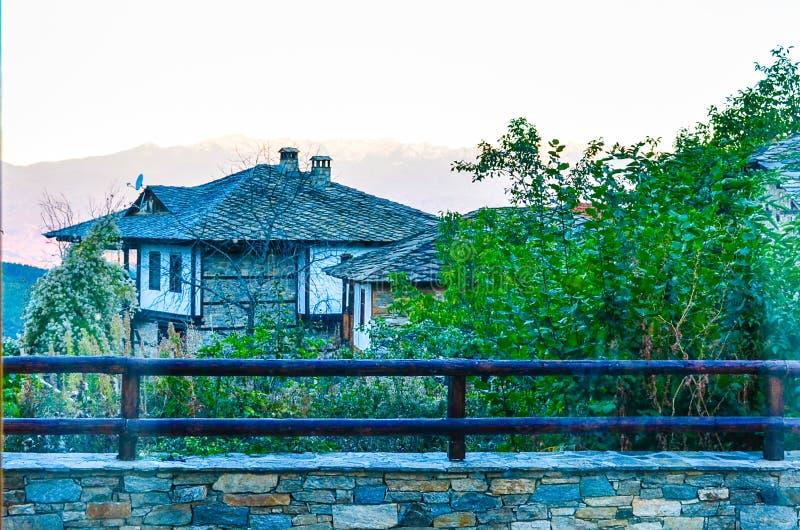 Casa de piedra imagen de archivo libre de regalías