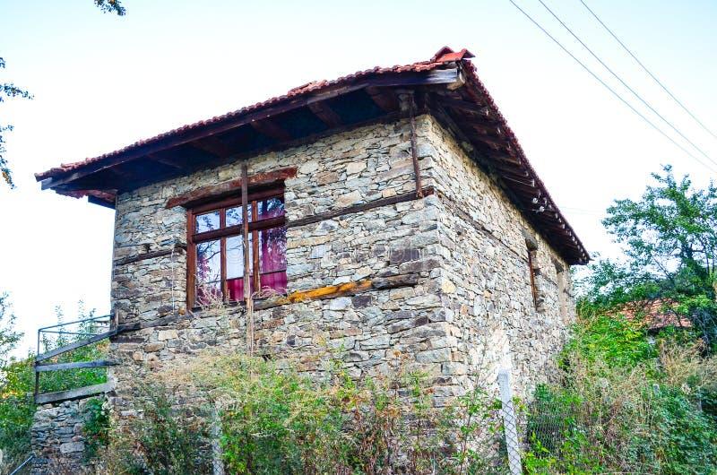 Casa de piedra foto de archivo