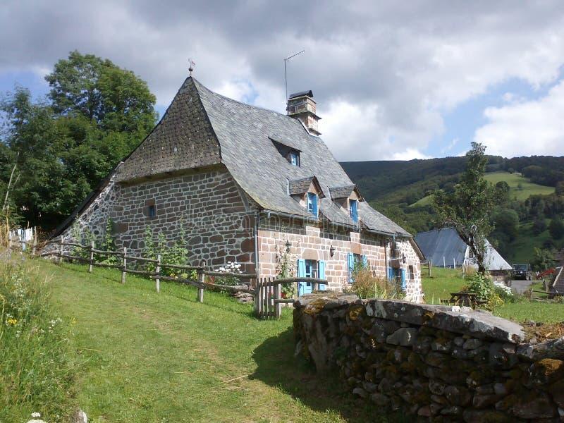 Casa de piedra fotos de archivo