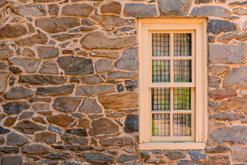 Casa de piedra vieja de Georgetown en Washington DC imagen de archivo