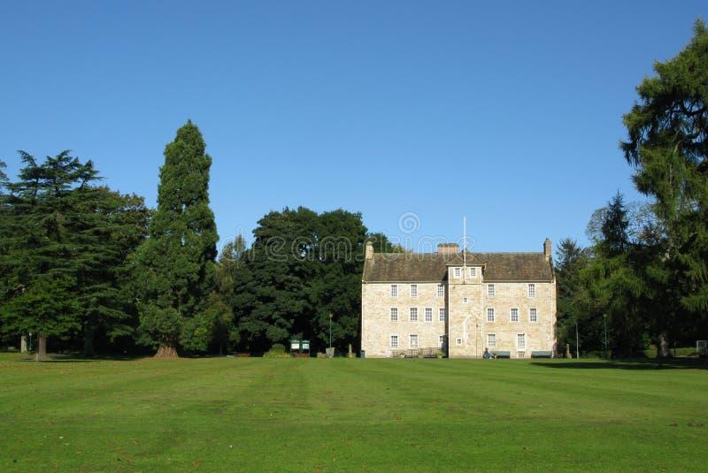 Casa de Pittencrieff, Dunfermline fotografía de archivo