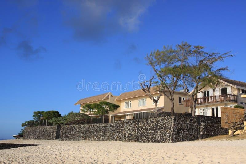 Casa de playa fotos de archivo