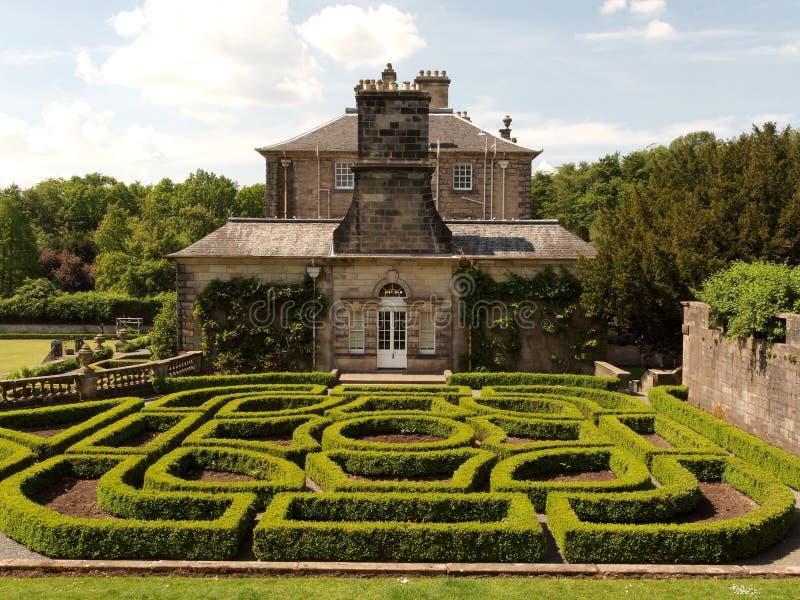 Casa de Pollok fotos de stock royalty free