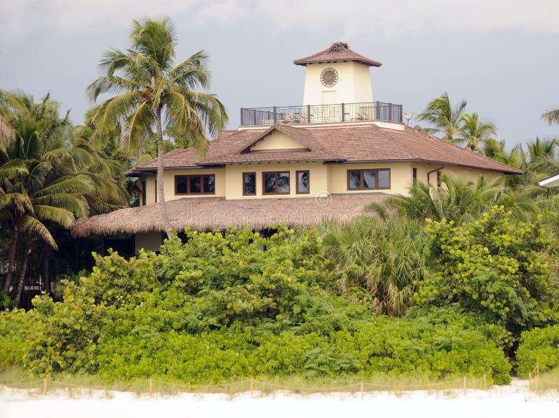 Casa de praia fotos de stock