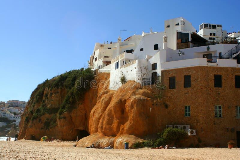 Casa de praia fotografia de stock