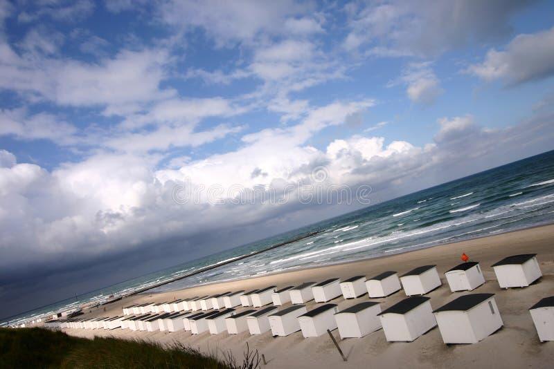 Casa de praia imagens de stock royalty free