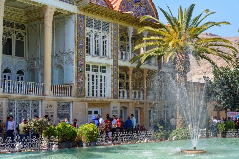 Casa de Qavam y jardín de Eram en Shiraz irán foto de archivo libre de regalías