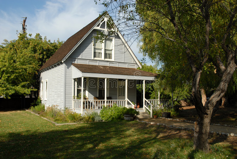 Casa de rancho imagem de stock
