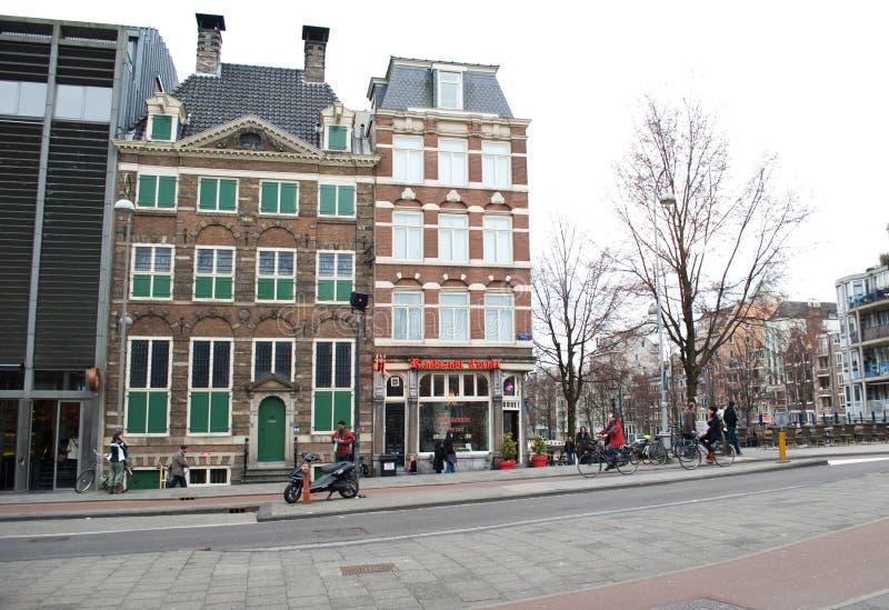 Casa de Rembrandt, Amsterdam foto de archivo libre de regalías
