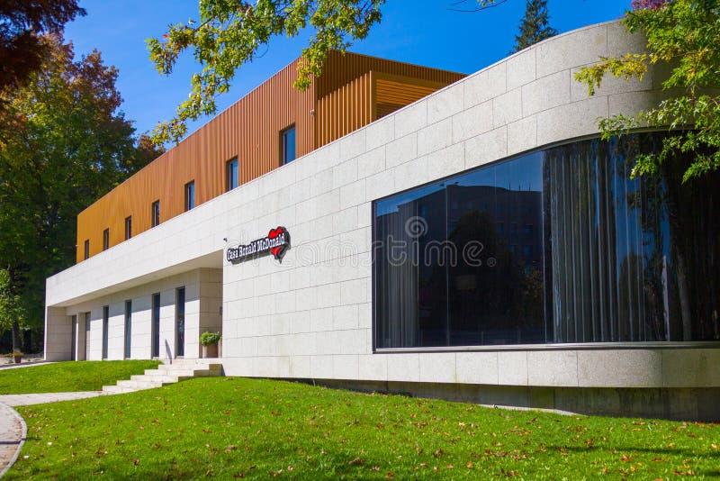 Casa de Ronald mcdonald fotografía de archivo
