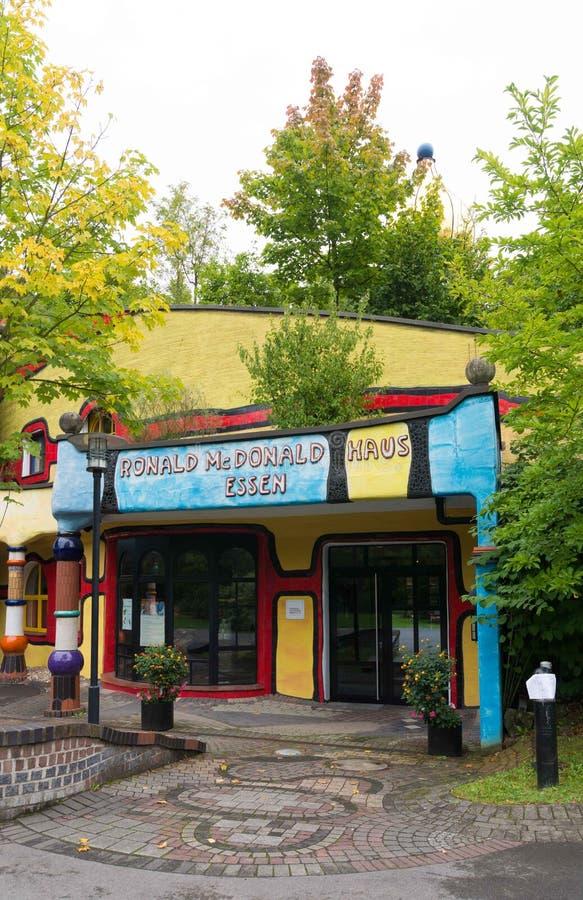 Casa de Ronald McDonald en Essen, Alemania fotos de archivo