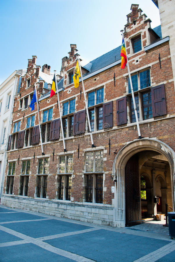 Casa de Rubens - Antuérpia fotos de stock royalty free