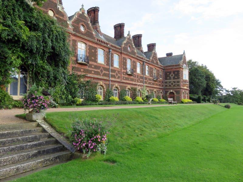 Casa de Sandringham en Norfolk, Inglaterra imagenes de archivo