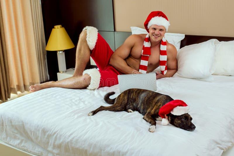 Casa de Santa Claus fotos de stock