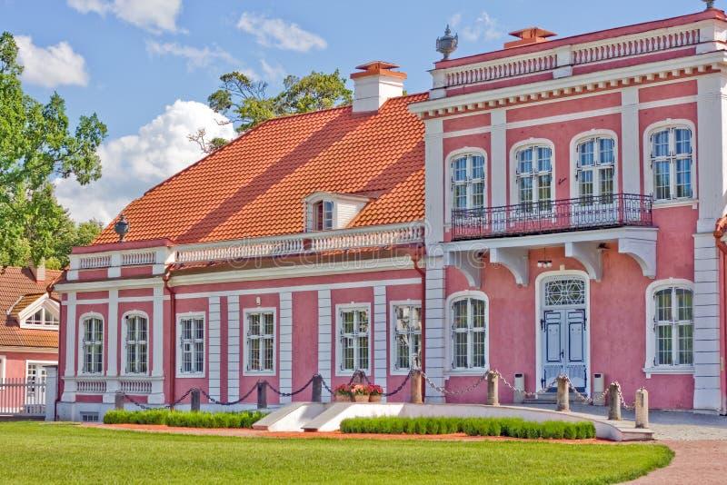 Casa de señorío de Sagadi fotografía de archivo libre de regalías