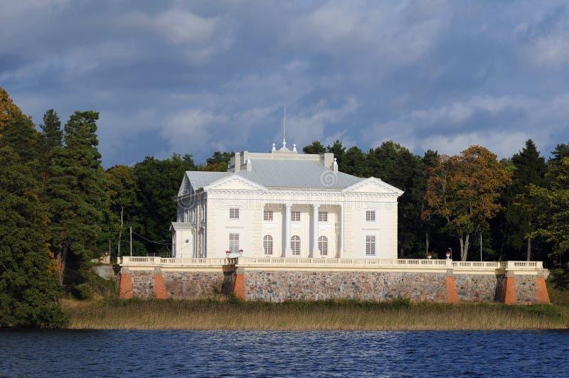 Casa de señorío de Uzutrakis fotografía de archivo libre de regalías