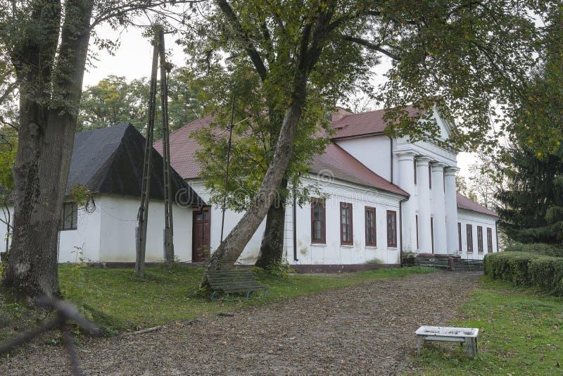 Casa de señorío vieja foto de archivo