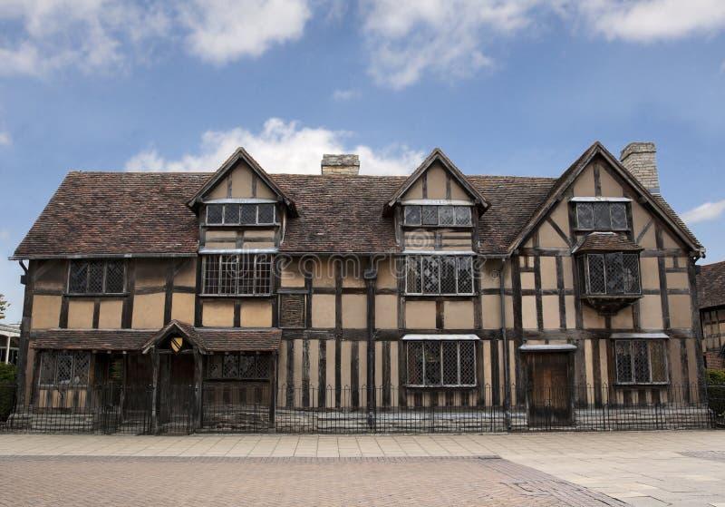 Casa de Shakepeare fotos de stock royalty free