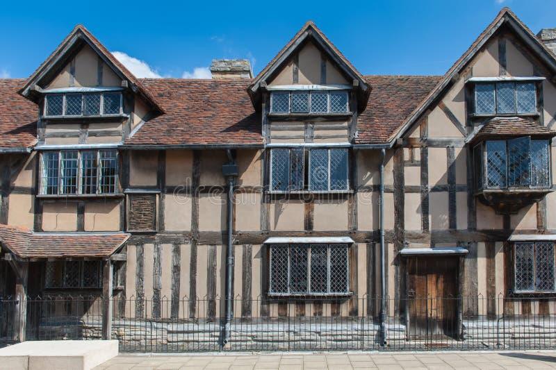 Casa de Shakespeares foto de stock royalty free