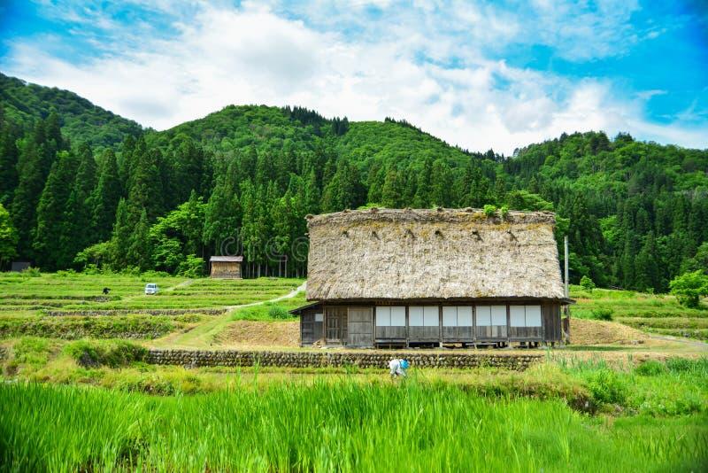 Casa de Shirakawa fotografia de stock royalty free