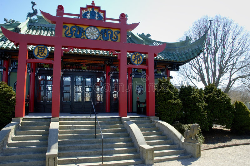 Casa de té china fotos de archivo libres de regalías