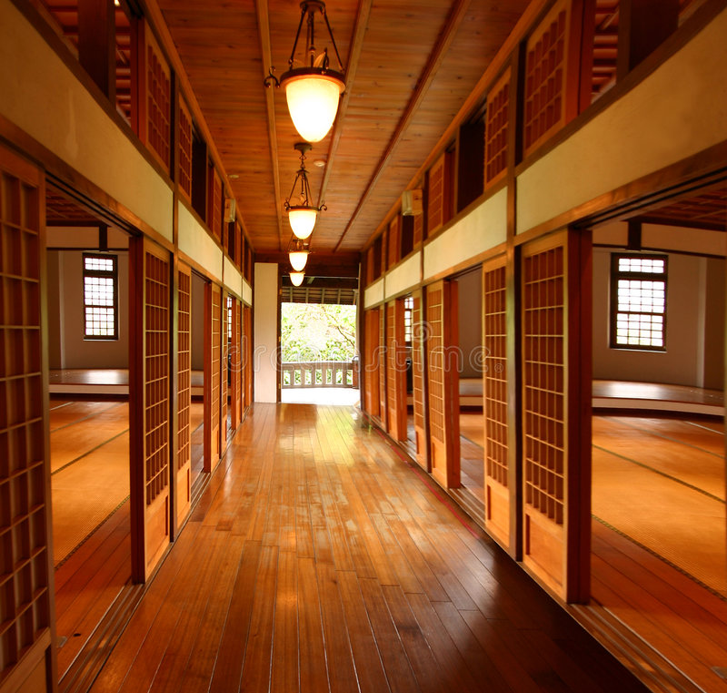 Casa de Tatami fotos de archivo libres de regalías
