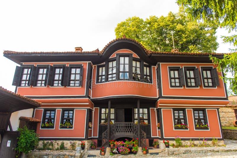 Casa de Todor Kableshkov, revolucionario búlgaro imagen de archivo libre de regalías