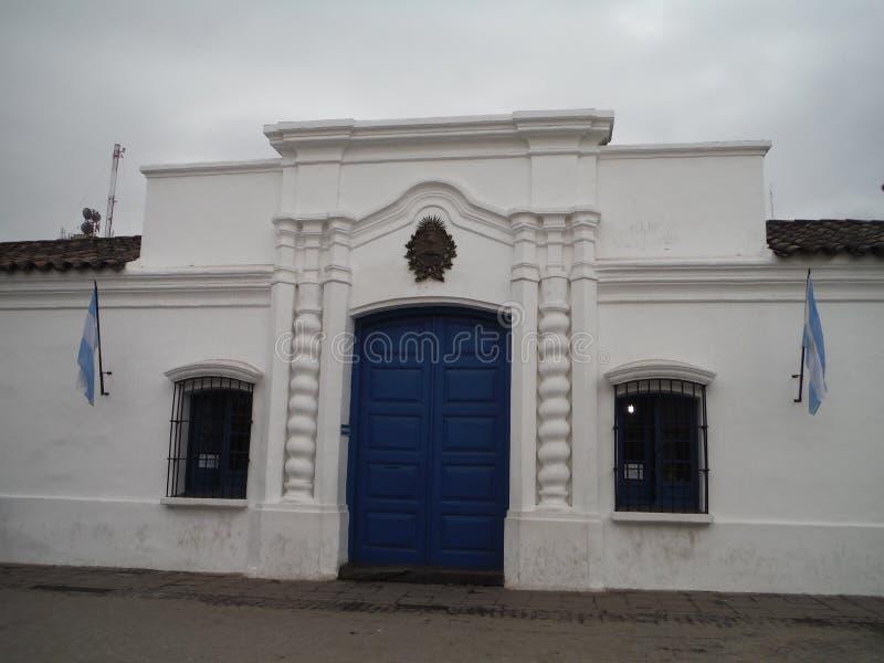 Casa De tucumà ¡ n San Miguel De tucumà ¡ n Argentyna fotografia royalty free