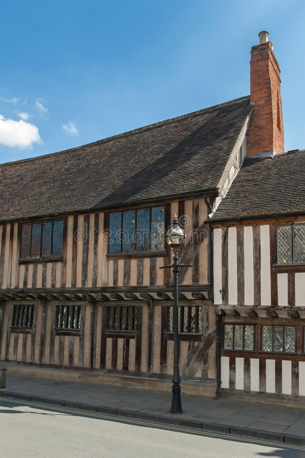 Casa de Tudor fotos de stock royalty free