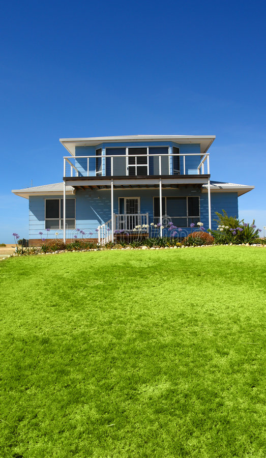 Casa de vacaciones fotografía de archivo