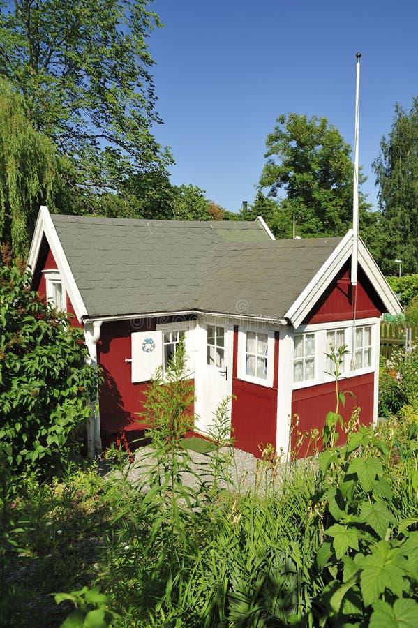 Casa de verano imagenes de archivo