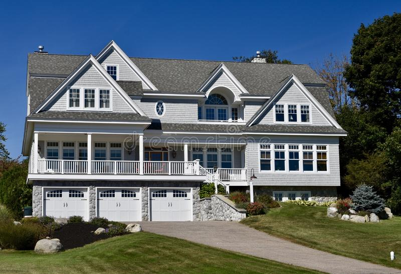 Casa de verano de Cape Cod imagen de archivo
