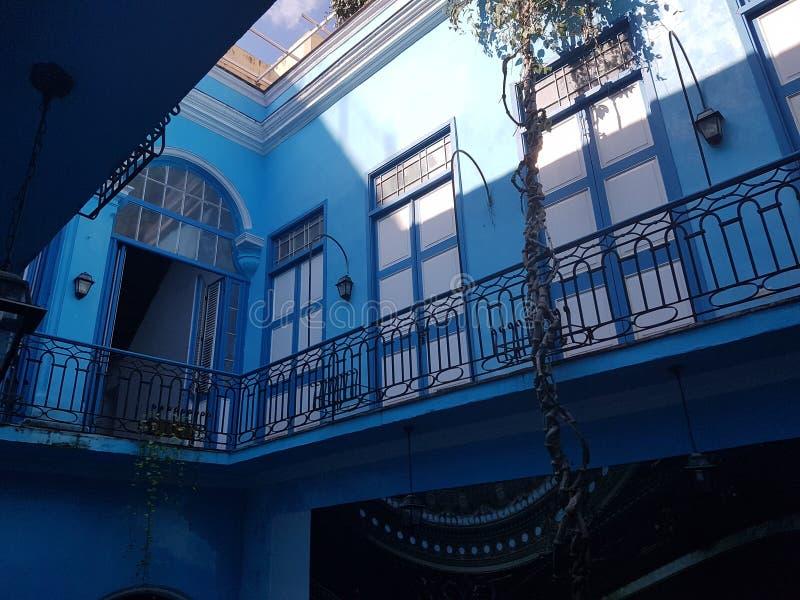 Casa de Victor Hugo arkivbilder