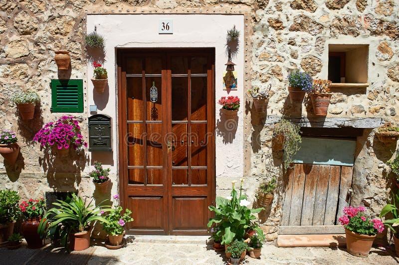 Casa decorativa di Valdemossa immagini stock libere da diritti
