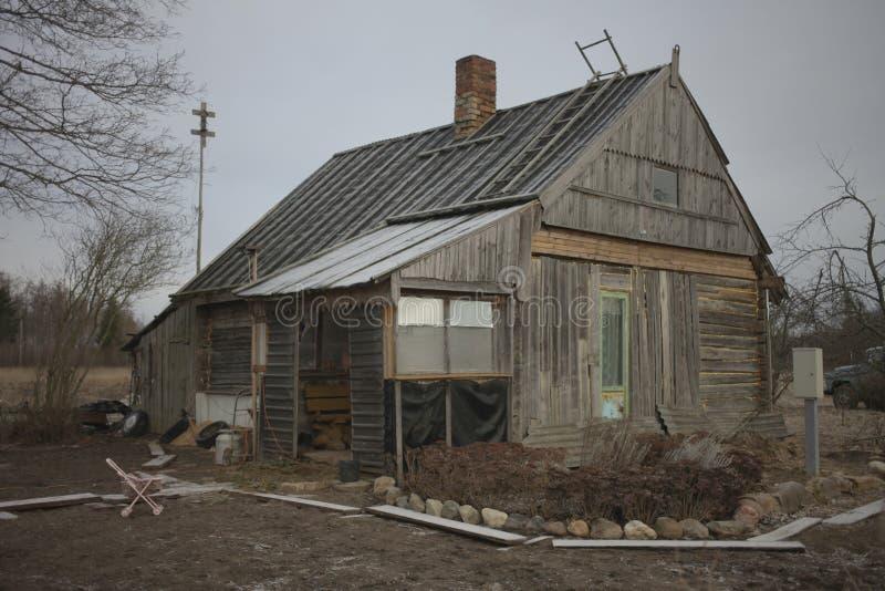 Casa deficiente fotografia de stock royalty free