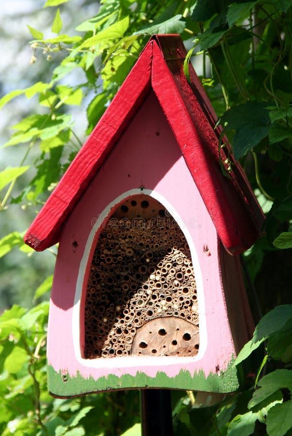 Casa degli insetti immagine stock