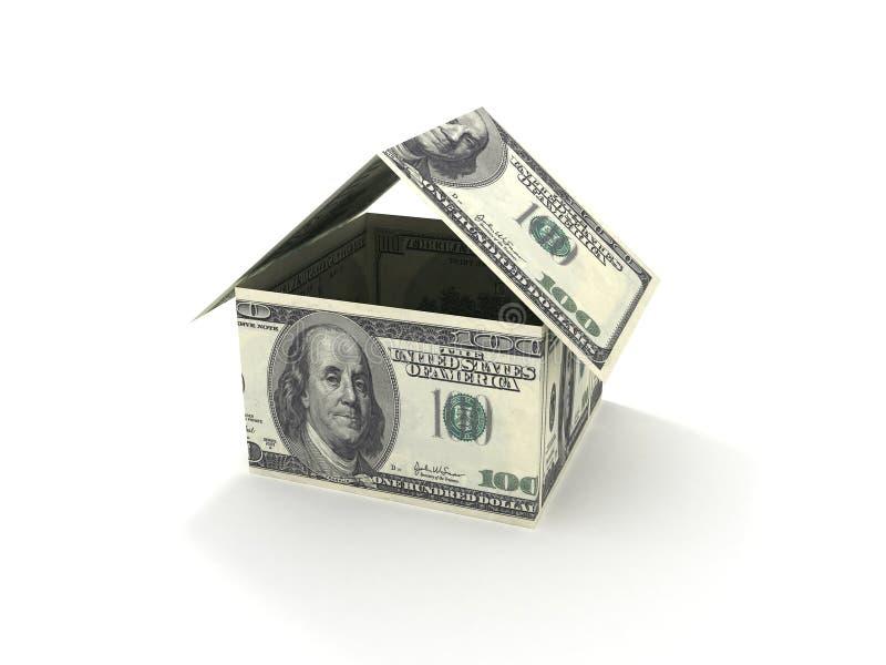 Casa dei soldi illustrazione vettoriale