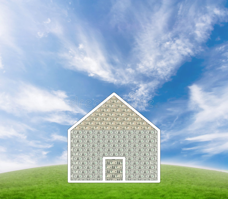 Download Casa dei soldi fotografia stock. Immagine di banconote - 3875658
