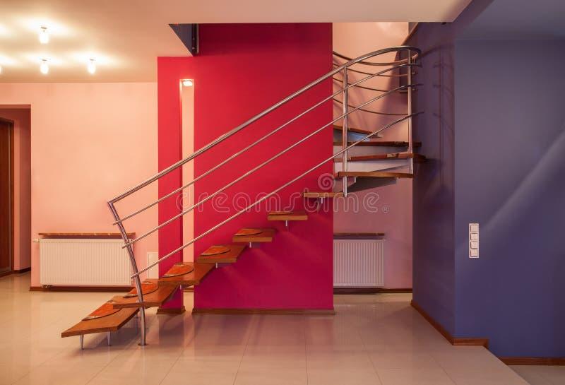 Casa del amaranto - escalera imagenes de archivo
