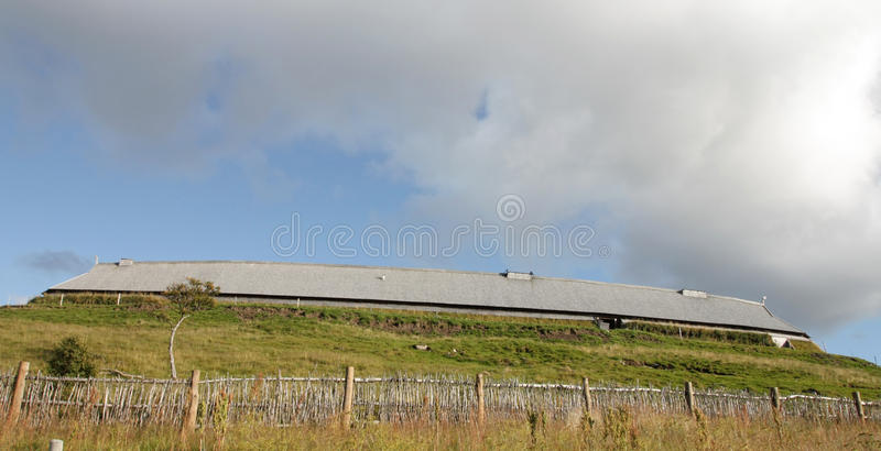 Casa del cacique de Vikingo fotos de archivo