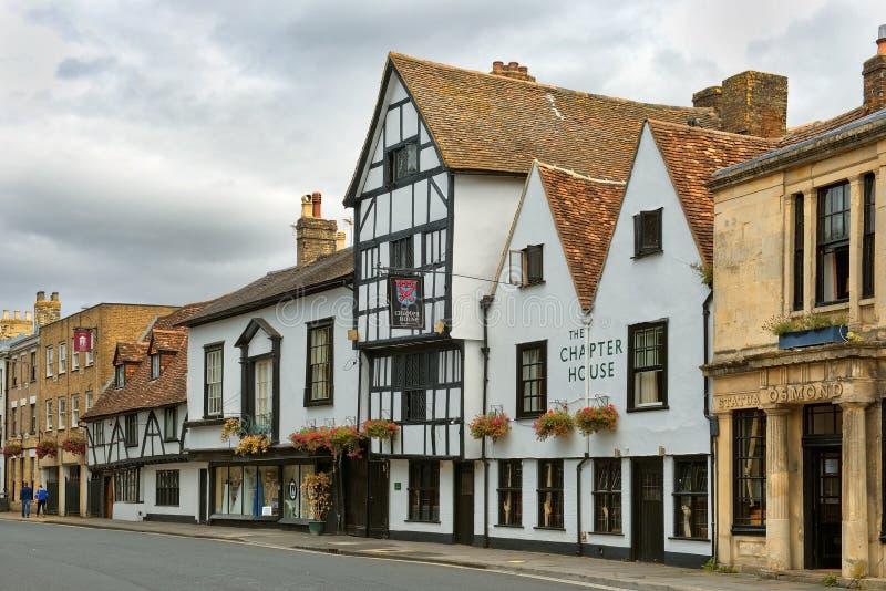 Casa del capítulo del hotel, Salisbury, UK fotografía de archivo libre de regalías