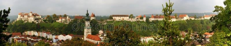 Casa del castello fotografie stock libere da diritti