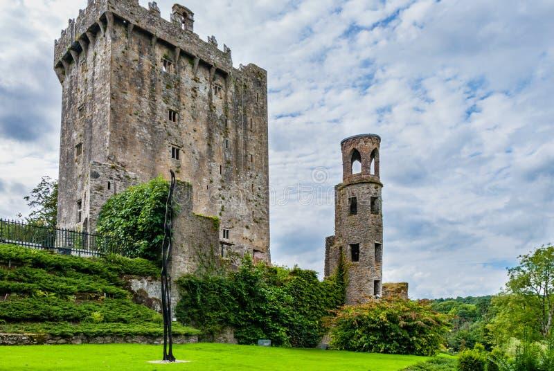 Casa del castello di lusinga della pietra di lusinga immagini stock libere da diritti