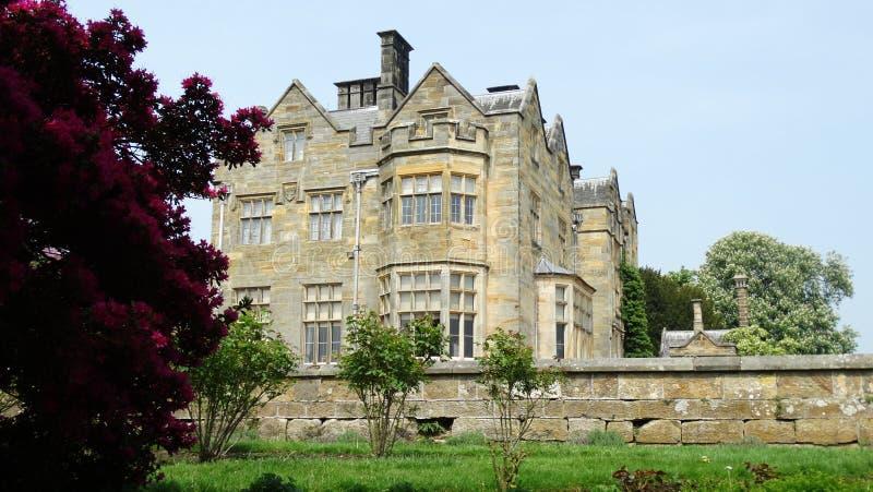 Casa del castello di Scotney fotografia stock libera da diritti