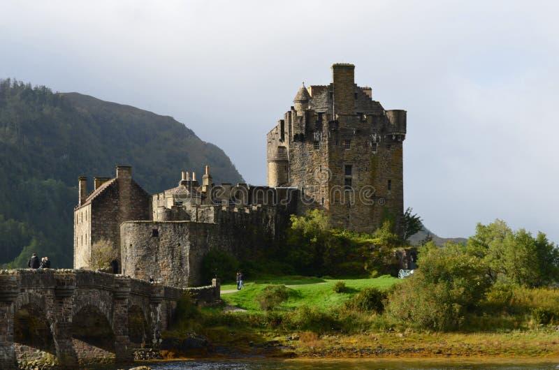 Casa del clan Mackenzie Eilean Donan Castle immagine stock libera da diritti